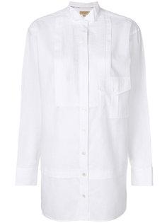рубашка со вставками  Burberry