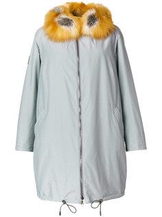 пальто с меховой подкладкой Gianfranco Ferre Vintage