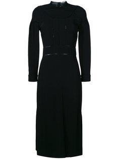 платье миди  Burberry