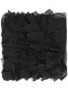 удлиненный многослойный шарф Giorgio Armani
