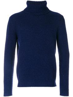 вязаный свитер с высоким воротником Mp  Massimo Piombo
