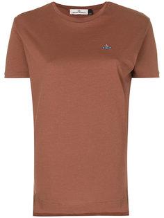 футболка с вышитым логотипом Vivienne Westwood Anglomania