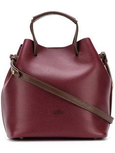 классическая сумка-тоут через плечо Hogan