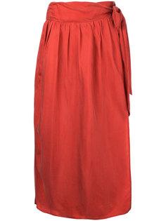 длинная юбка с завязками 08Sircus