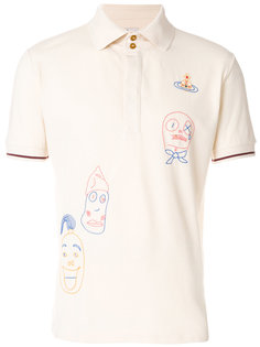 футболка с вышивкой Vivienne Westwood