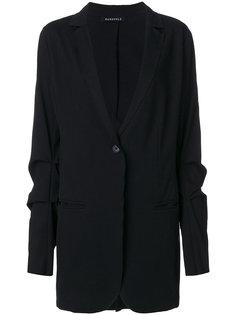 пиджак со сборками на рукавах  Rundholz