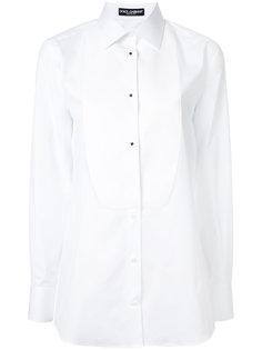 рубашка со вставкой спереди  Dolce & Gabbana