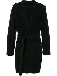 пальто с капюшоном MSGM