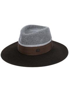 шляпа с лентой Maison Michel