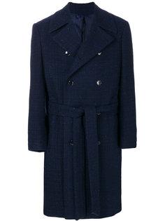 пальто с поясом Mp  Massimo Piombo