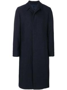 однобортное пальто Mp  Massimo Piombo