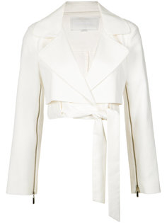 cropped biker jacket Giuliana Romanno