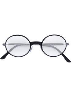 очки с круглой оправой Giorgio Armani