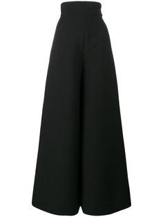 широкие брюки с завышенной талией  Vika Gazinskaya