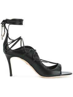 туфли-лодочки со шнуровкой Dsquared2