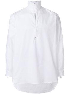 рубашка с воротником на молнии Lucio Vanotti