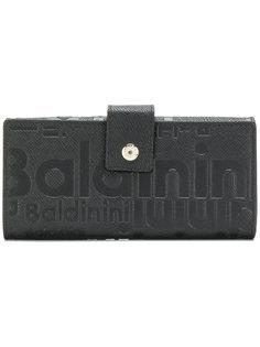кошелек с тисненым логотипом  Baldinini