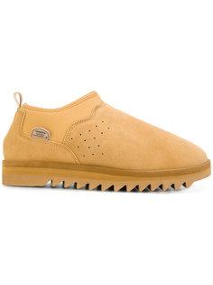 ботинки с отделкой из овчины Suicoke