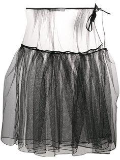 пышная полупрозрачная юбка  Nostra Santissima