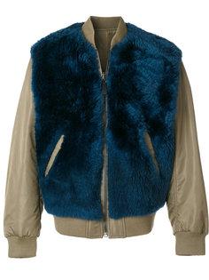 двухсторонняя куртка-бомбер  Yves Salomon