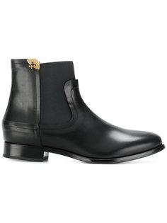 высокие ботинки с эластичными вставками Fabi
