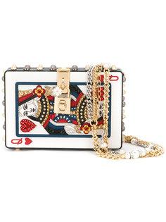 квадратный клатч Queen Of Hearts Dolce & Gabbana