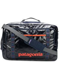 дорожная сумка с принтом с логотипом Patagonia