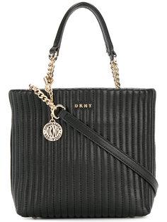 сумка со стеганым эффектом DKNY