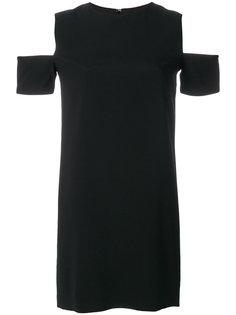 платье с вырезными деталями Helmut Lang