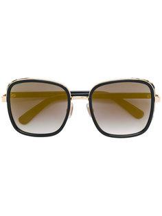 солнцезащитные очки в квадратной оправе Jimmy Choo Eyewear