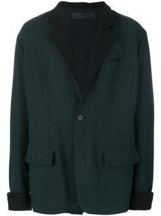 контрастный пиджак Haider Ackermann