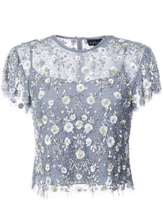 sequin appliqué blouse Needle & Thread