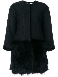 пальто с меховой панелью спереди Ava Adore