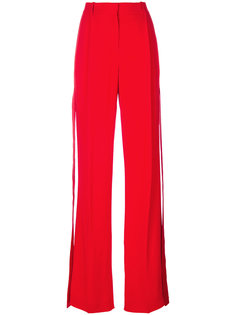 брюки строгого кроя с лентами по бокам Givenchy