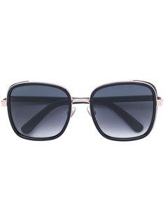 солнцезащитные очки в крупной квадратной оправе Jimmy Choo Eyewear
