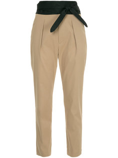 брюки с высокой талией с ремнем En Route