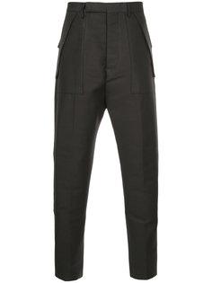зауженные брюки Rick Owens