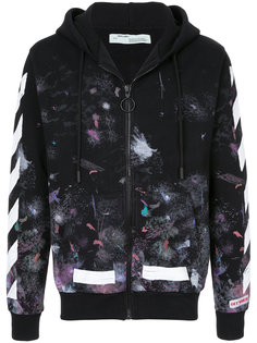 толстовка Diag Galaxy Off-White