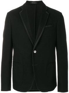 пиджак с атласной окантовкой Giorgio Armani