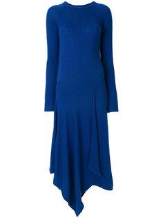 платье с асимметричным подолом  Pringle Of Scotland