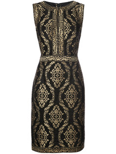 embroidered fitted dress Tadashi Shoji