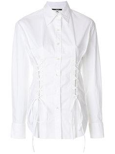 рубашка-корсет  McQ Alexander McQueen