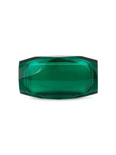 клатч в форме бриллианта из плексигласа Princess Benedetta Bruzziches