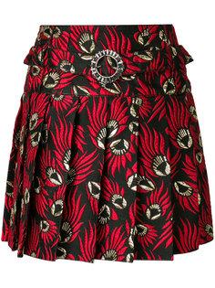 жаккардовая плиссированная юбка  Dolce & Gabbana