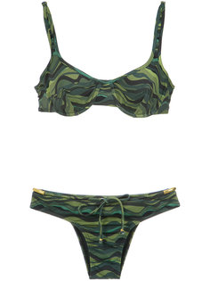 drawstring bikini set Amir Slama