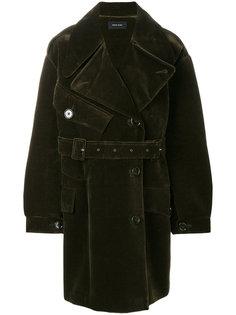 двубортное пальто  Simone Rocha
