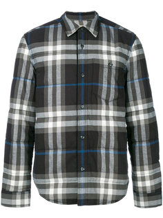 классическая рубашка в клетку Burberry Vintage