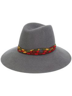 шляпа с вышивкой Maison Michel