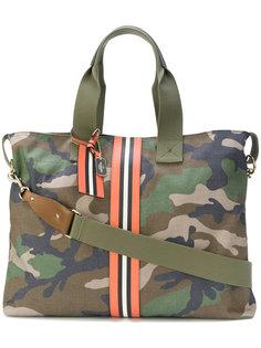 камуфляжная сумка-тоут Valentino