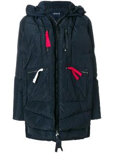 дутая куртка с капюшоном  Armani Jeans